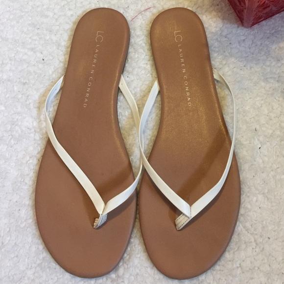 Lc Lauren Conrad Sandals Flip Flops